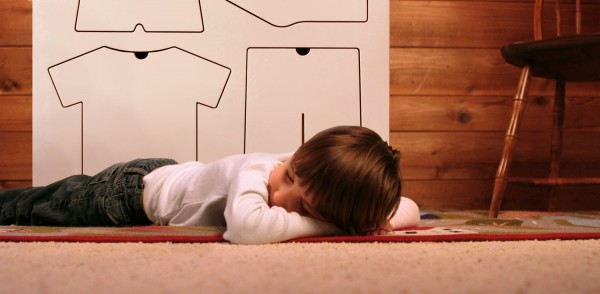 A Training Dresser nap