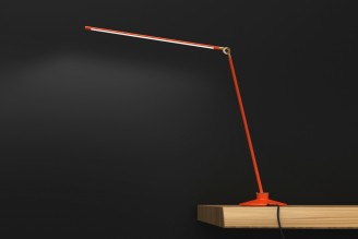 Juniper Design Thin LED Lamp Peter Bristol Side Orange