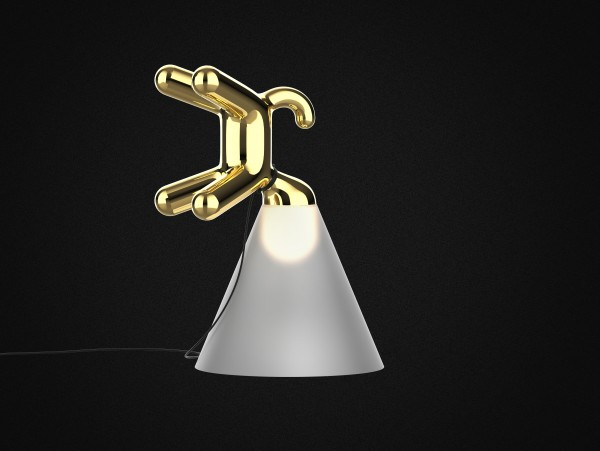 Peter Bristol Cone of Light Gold