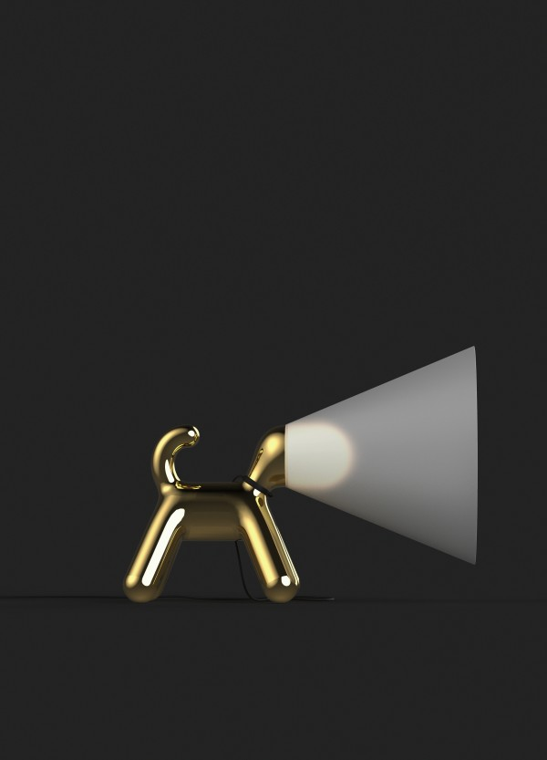 Peter Bristol Cone of Light gold side