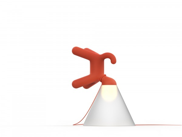 Peter Bristol Cone of Light  red upright